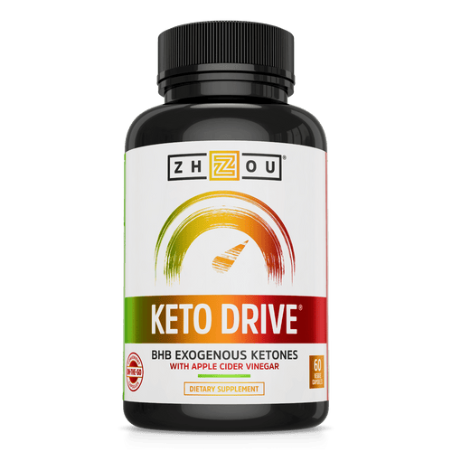 Zhou Nutrition Keto Supplement Capsules