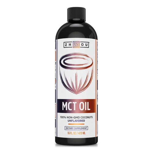 Zhou Nutrition C8 MCT Oil for Keto