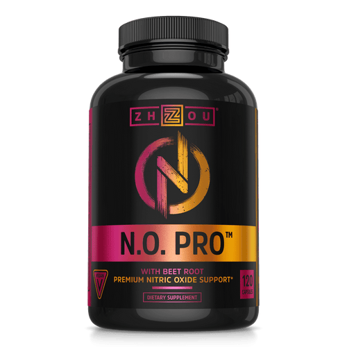 Zhou Nutrition N.O. Pro with beet root premium nitric oxide support, vegan