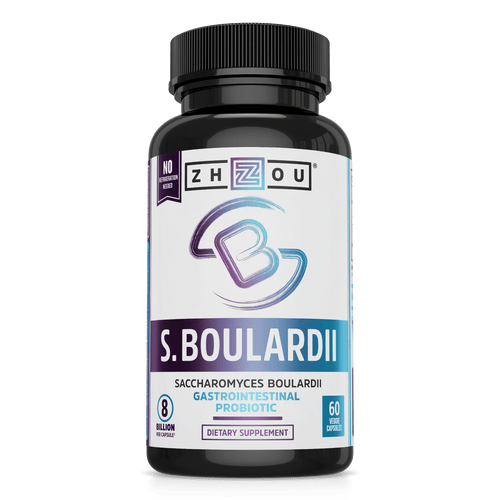 Zhou Nutrition Saccharomyces Boulardii Supplement
