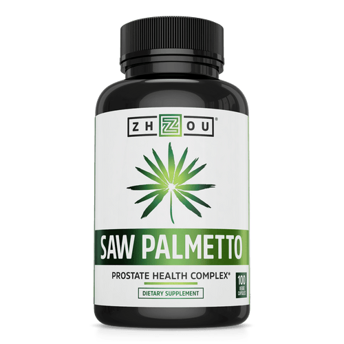 Zhou Nutrition Saw Palmetto Supplement for Prostate Health