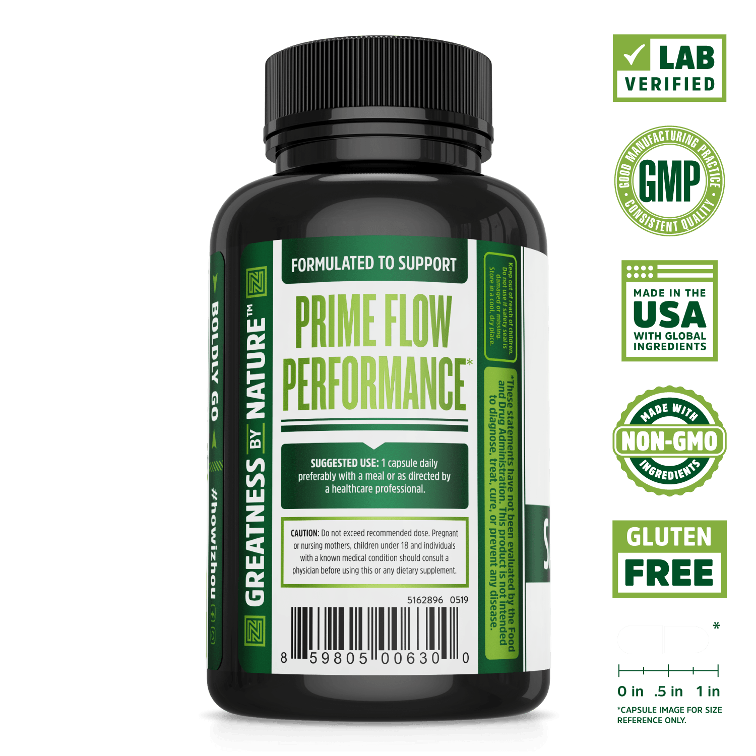 Saw Palmetto Supplement Support for Healthy Urination.  Lab verified, good manufacturing practices, made in the USA with global ingredients, made with non-GMO ingredients, gluten free.