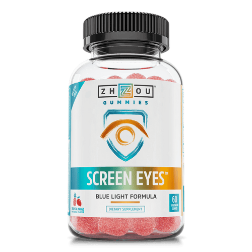 Zhou Nutrition Screen Eyes Blue Light Formula Gummies