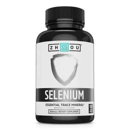 Zhou Nutrition 200mcg Selenium Supplement
