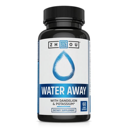 Zhou Nutrition Water Away with Dandelion & Potassium