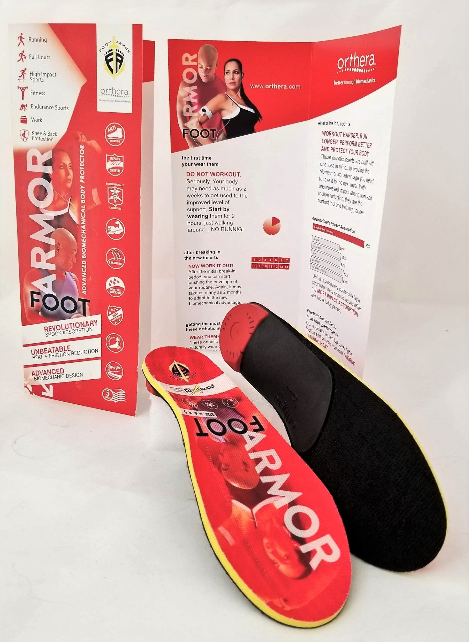 FootArmor Extreme Cushioning & Support