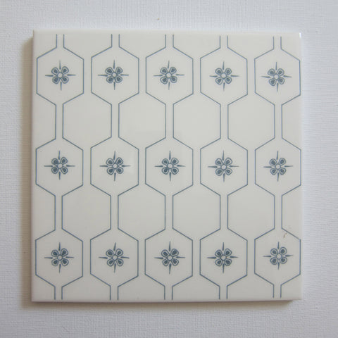 D1600 Vintage Grey Honeycomb Wall Tile