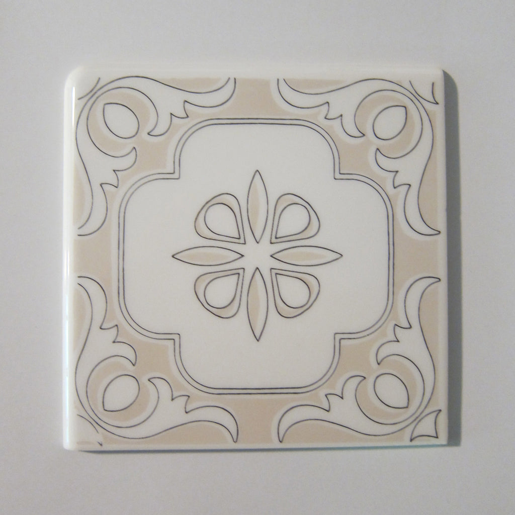 D910 Vintage Double Bullnose Wall Tile