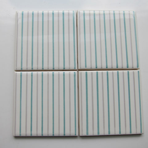 FR20 Vintage Striped Wall TIle