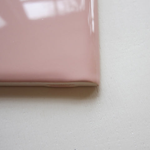 VN28 Vintage Pink Double Bullnose Wall TIle