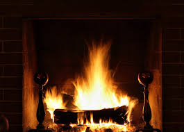 fireplace, fire, firewood, Thanksgiving, dinner