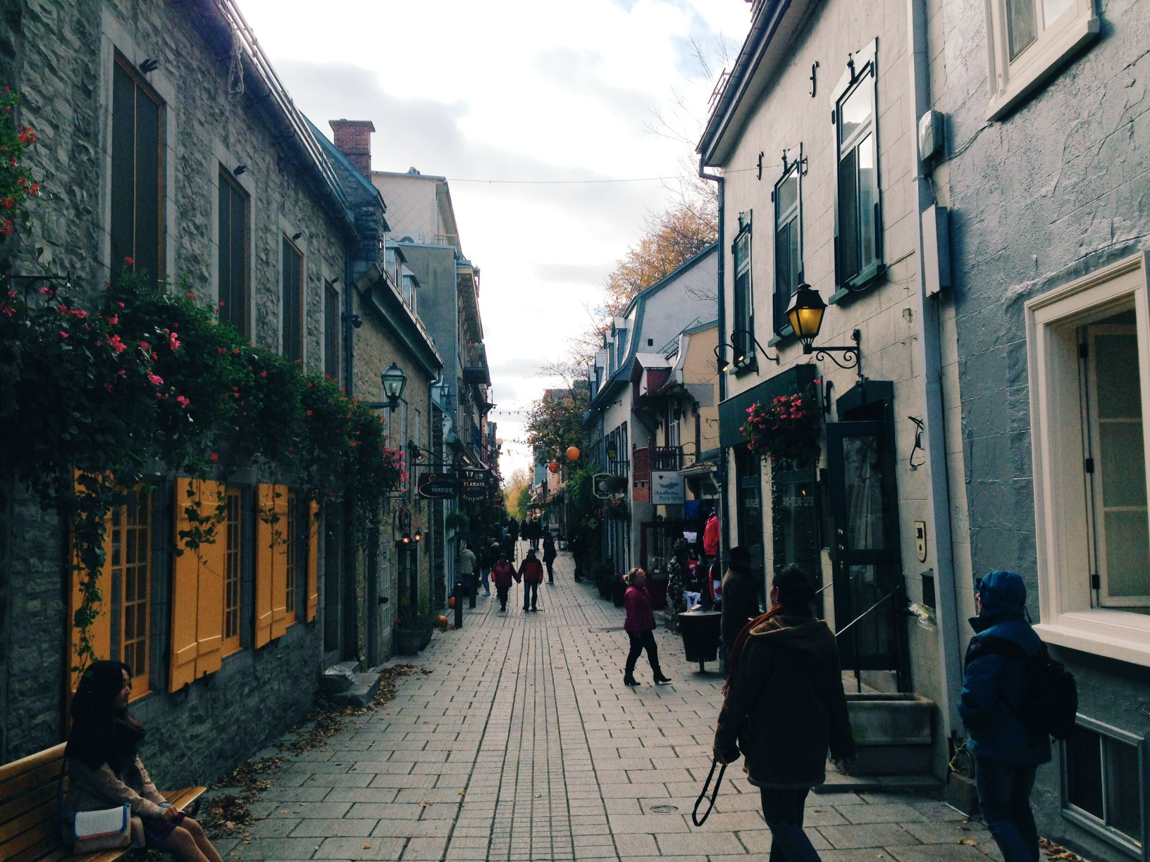 french bistro, french cuisine, french restaurants, lapin saute, bistro sous le fort, petit champlain, old town, quebec city, quebec, fall, autumn, travel, canada travel, canada