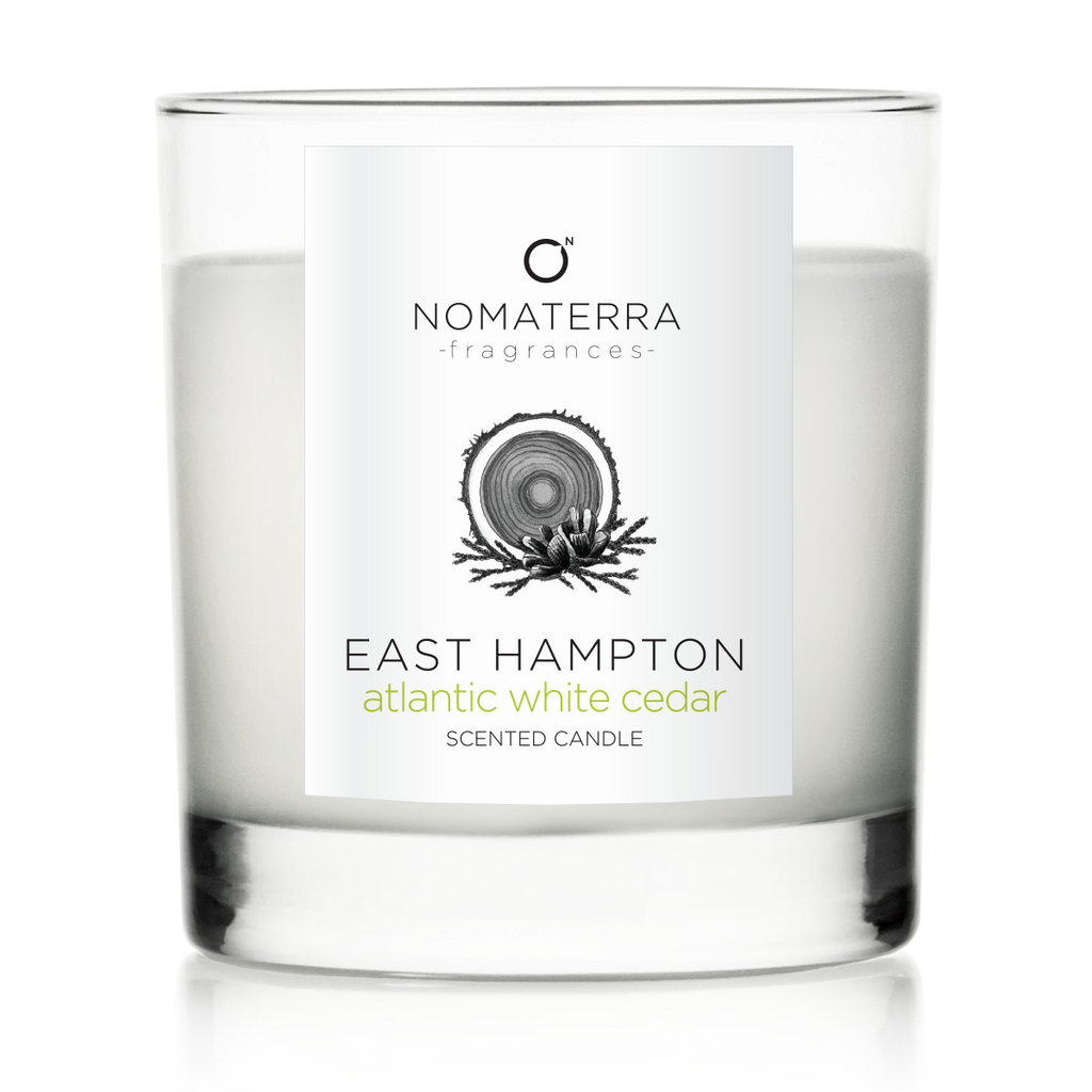 East Hampton - Atlantic White Cedar - Hand-Poured Soy Candle - 9 oz