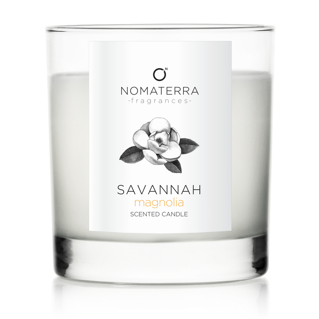 Savannah - Magnolia - Hand-Poured Soy Candle - 9oz