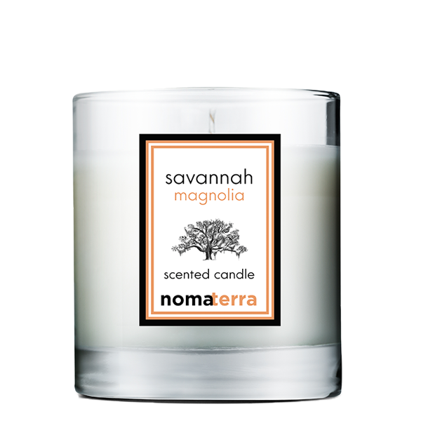 savannah magnolia hand poured soy candle 9oz nomaterra. Black Bedroom Furniture Sets. Home Design Ideas