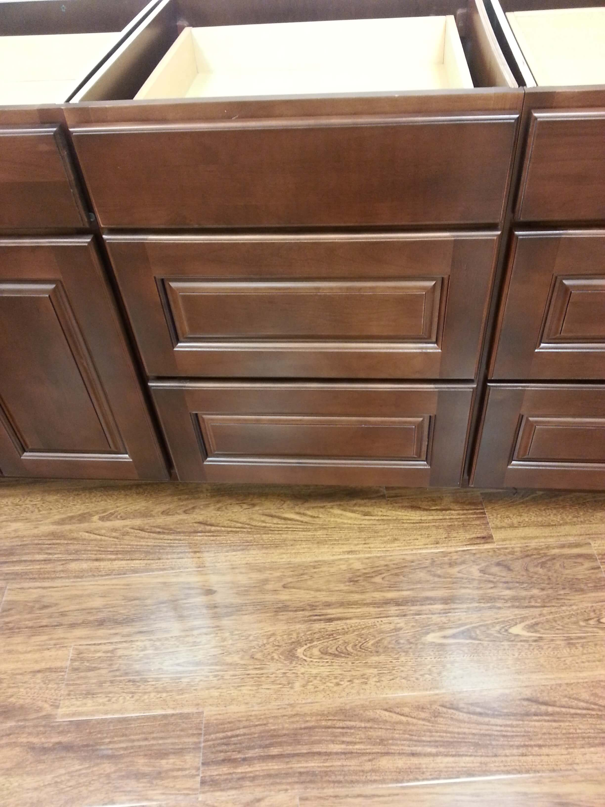 alder kit cabinets collections drawer espresso