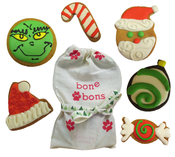 Christmas Dog Treat Bag