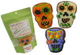 Day of the Dead Dog Skull Cookies
