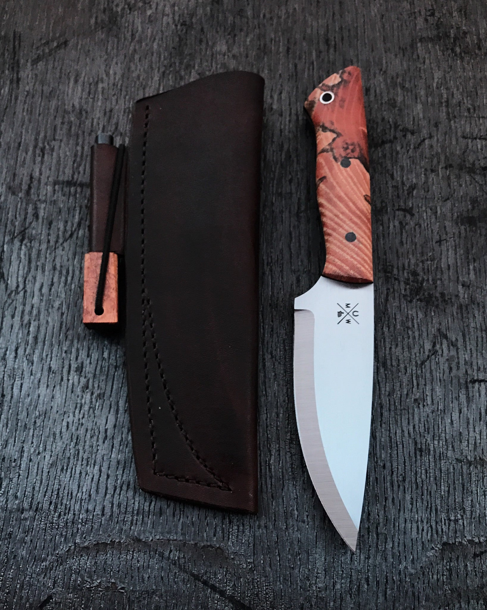 Hackberry Bushcraft Knife