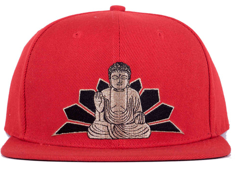 BUDDHA SNAPBACK HEAD CRACK HAT