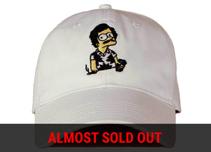 escobart hat dad hat head crack nyc
