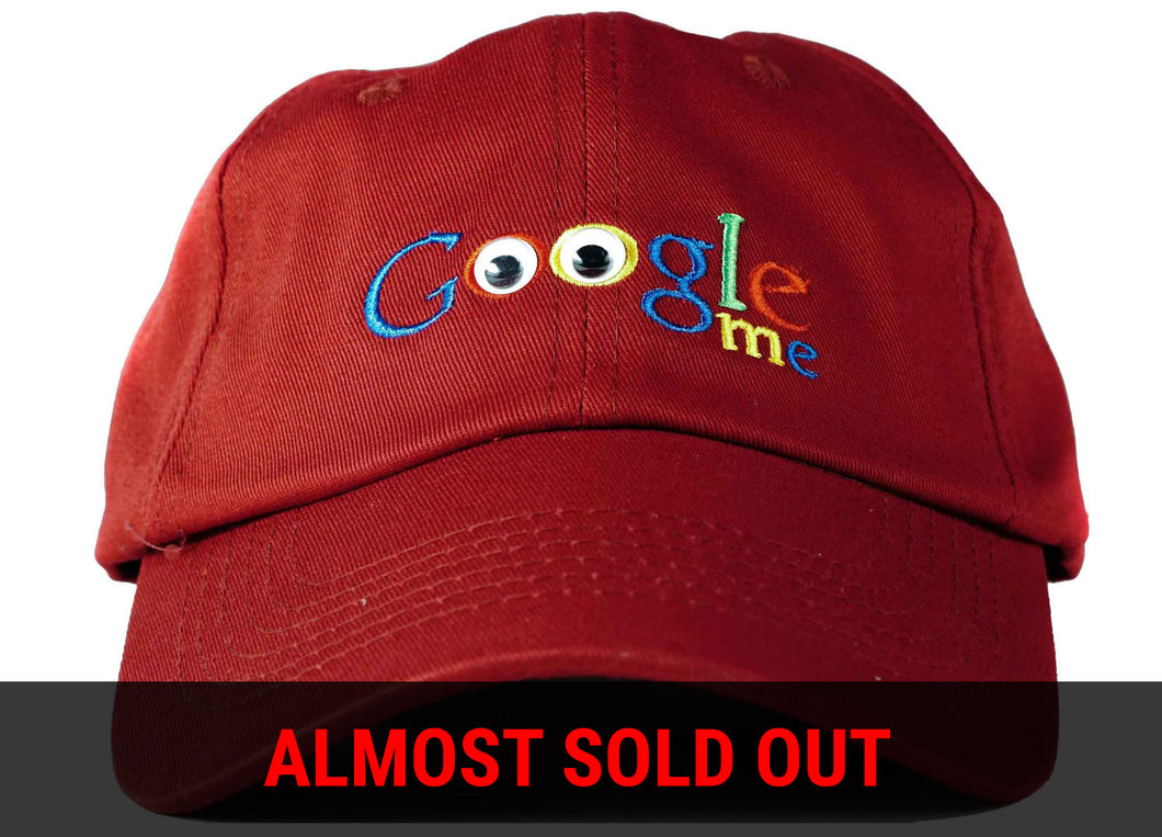google me dad hat head crack nyc google hat
