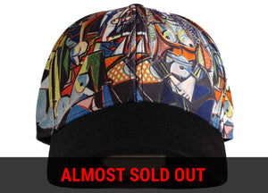 picasso hat picasso snapback picasso women of algiers head crack nyc picasso dad hat