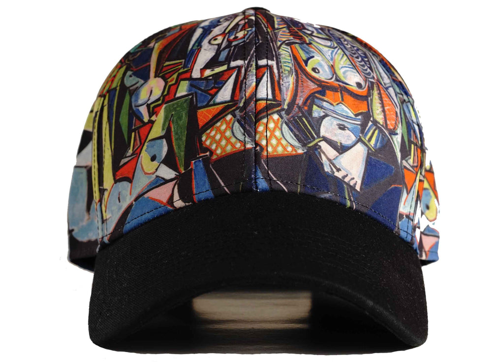 picasso dad hat head crack nyc