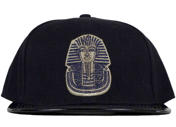 pharaoh snapback patent leather visor head crack nyc