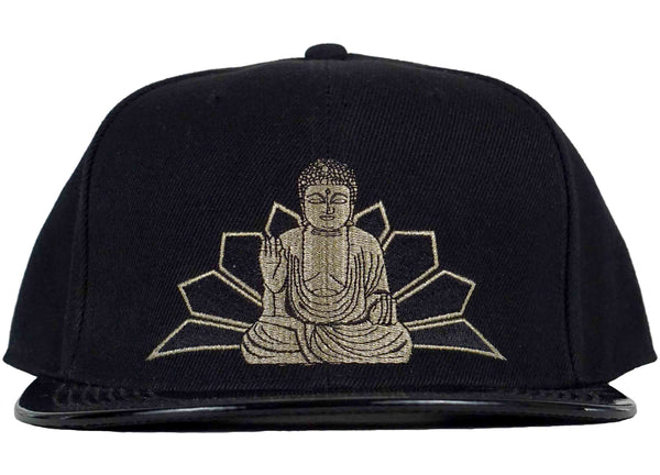 Buddha Snapback VINYL **LIMITED STOCK** - Head Crack NYC