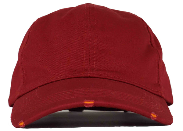 burgundy Dad Hats  Head Crack NYC