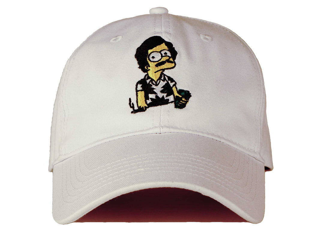 7236a5c0 escobart dad hat head crack nyc pablo escobar hat bart simpson hat