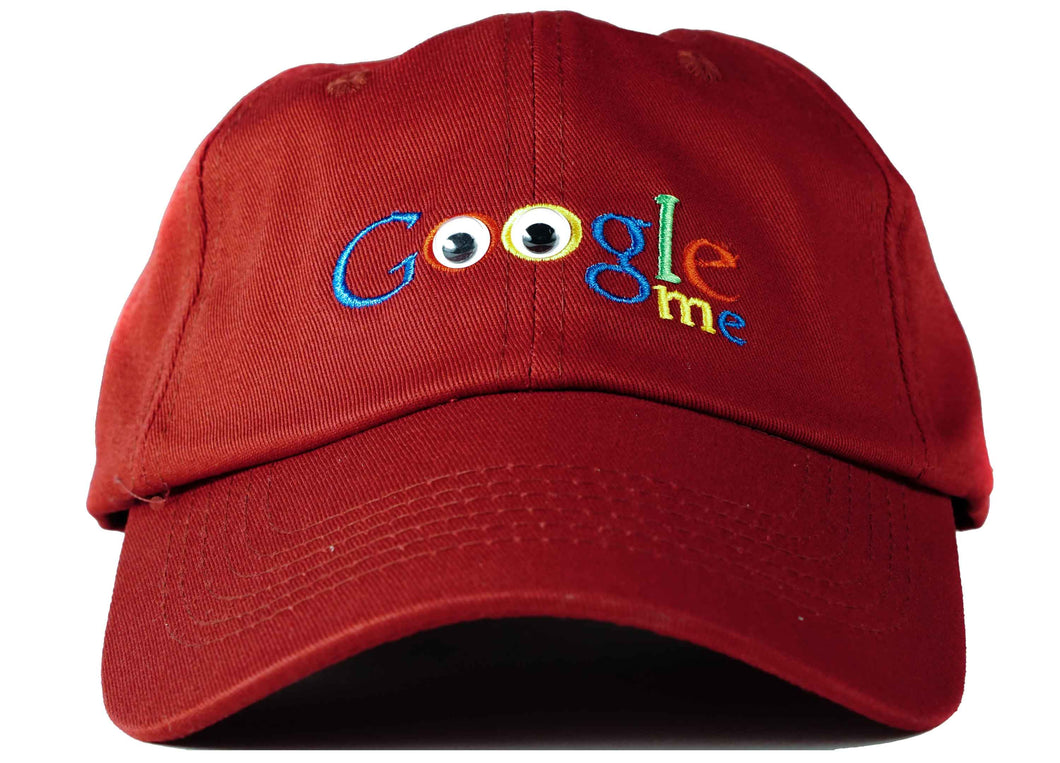 google hat google me dad hat head crack nyc