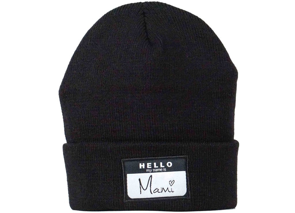 hello my name is mami beanie mami beanie head crack nyc