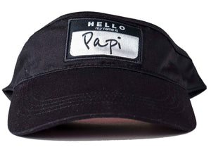 hello my name is papi visor papi visor head crack nyc