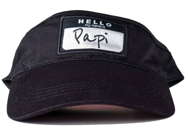 Hello my name is papi visor head crack nyc