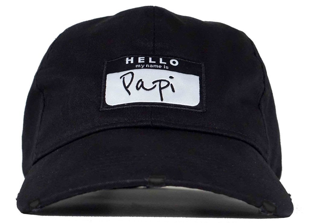 ... hello my name is papi hat papi dad hat head crack nyc ... 7c3b431877f