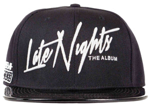 jeremih snapback jeremih late nights merchandise head crack nyc