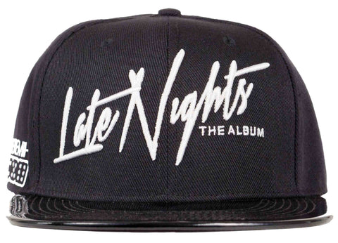 late nights the album- jeremih snapback head crack