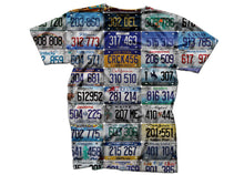 license to style shirt license plate t shirt head crack nyc