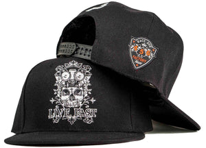 skull snapback candy skull hat head crack nyc ghost rider hat
