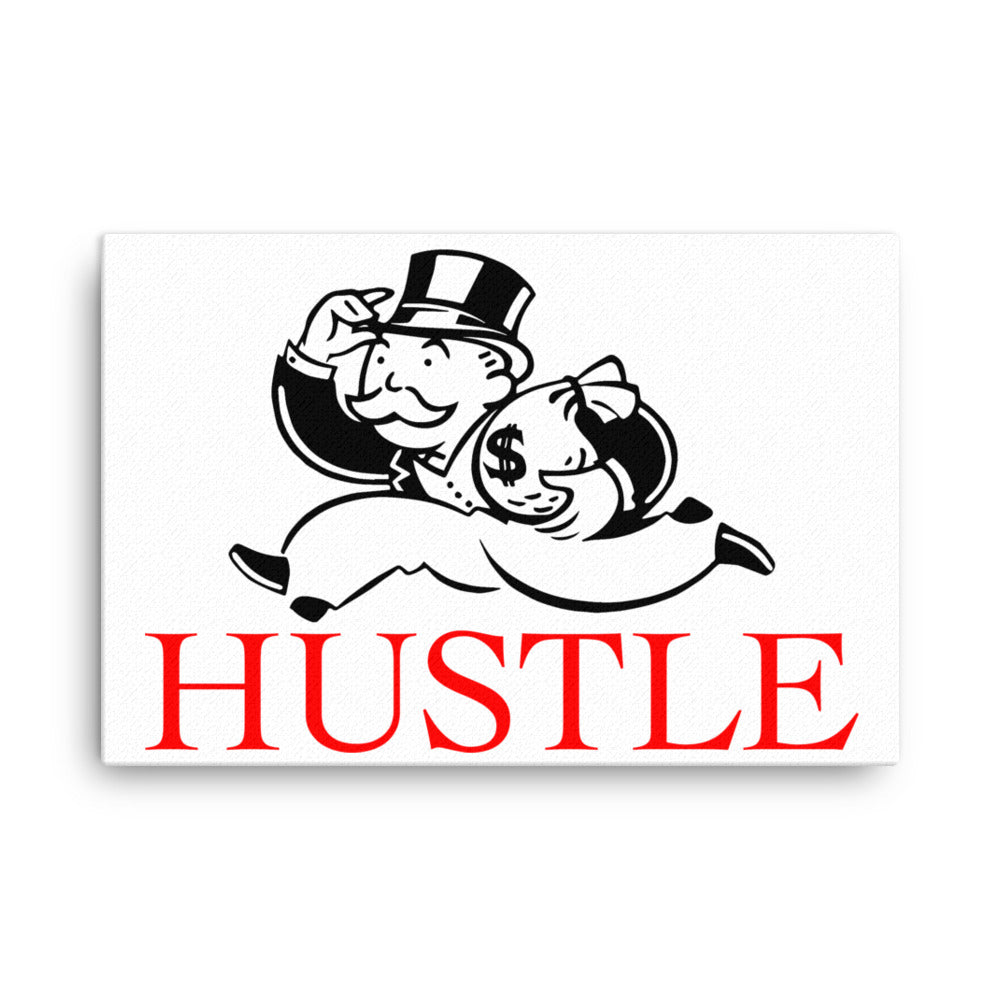 hustle canvas monopoly wall art alec monopoly canvas head crack wall art