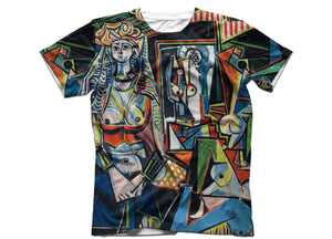 picasso t shirt women of algiers shirt head crack nyc