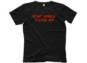 what would yeezus do t shirt kanye west life of pablo merchandise head crack nyc