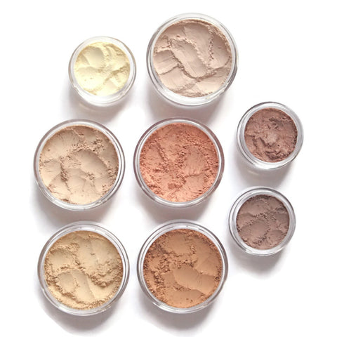 Mineral Makeup Premium Set ⋙Light Warm⋘