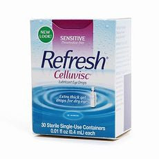 Refresh Celluvisc, Lubricant Eye Drops 30 ea - OutpatientMD.com