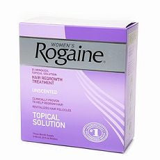 Women's Rogaine Hair Regrowth Treatment, Unscented - OutpatientMD.com
