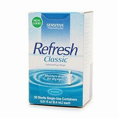 Refresh Classic, Lubricant Eye Drops 50 ea - OutpatientMD.com