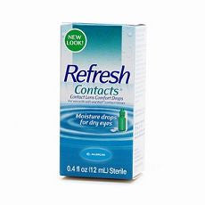 Refresh Contacts, Contact Lens Comfort Drops 0.4oz - OutpatientMD.com