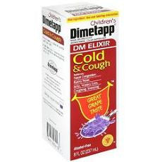 Dimetapp Children's Cold and Cough Grape 8oz - OutpatientMD.com